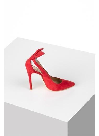 Pier Lucci Hakiki Deri Ayakkabı Kırmızı
